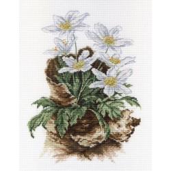 First Flowers SNV-567 siuvinėjimo rinkinys iš MP Studija