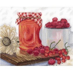 Berry Jam SNV-598 cross stitch kit by MP Studio