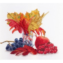 Autumn Colors SNV-603 cross stitch kit by MP Studio