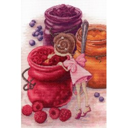 Berry Jam Fairy SNV-610 cross stitch kit by MP Studio