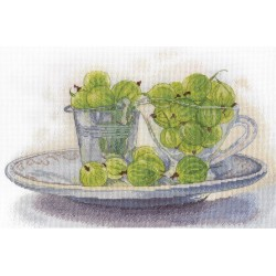 Berry Still Life SNV-622 cross stitch kit by MP Studio