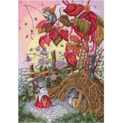Autumn Morning SNV-628 cross stitch kit by MP Studio