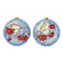 Christmas Tree Decoration - Rowan SR-166 cross stitch kit by MP Studio