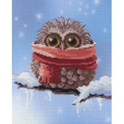 Owl - Winter SRK-303 siuvinėjimo rinkinys iš MP Studija