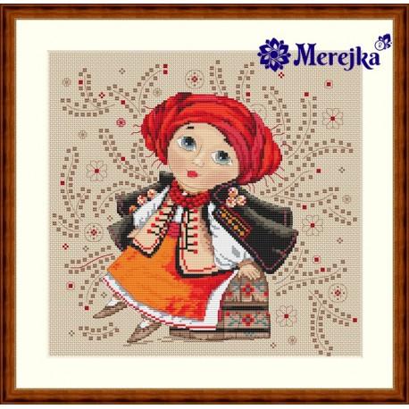 On the Dowry SK01 cross stitch kit by Merejka