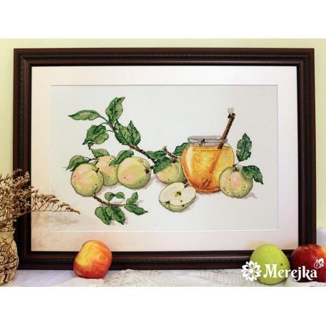 Honey Apples SK02 siuvinėjimo rinkinys iš Merejka