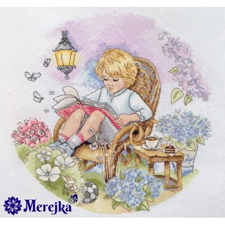 Fairy Garden SK18 siuvinėjimo rinkinys iš Merejka