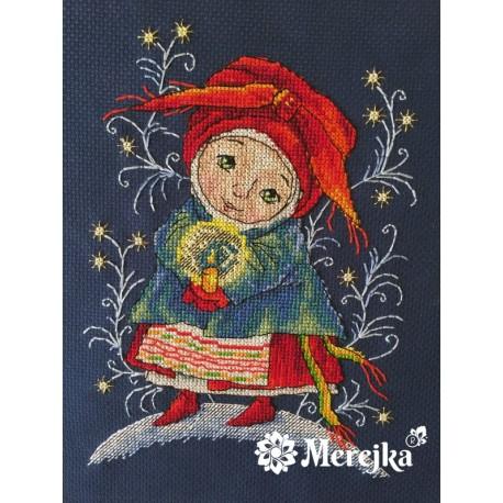 Christmas Light SK19 siuvinėjimo rinkinys iš Merejka