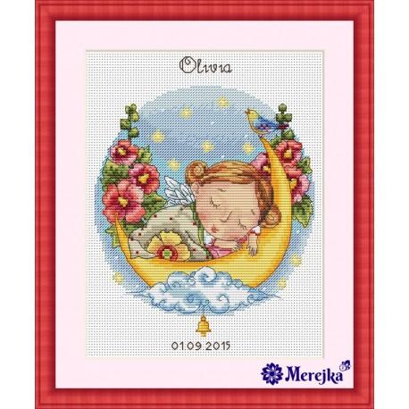 Lullaby for Daughter SK23 siuvinėjimo rinkinys iš Merejka