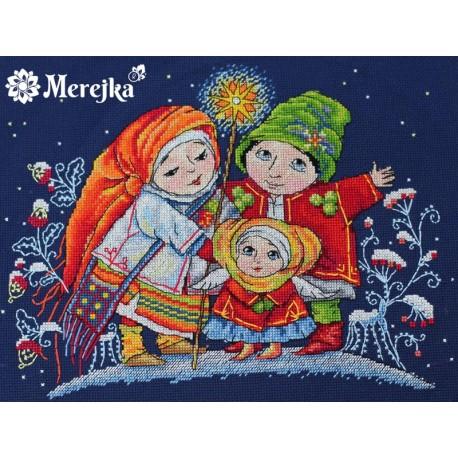 Christmas Star SK26 siuvinėjimo rinkinys iš Merejka