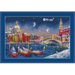 Holiday Venice SK29 cross stitch kit by Merejka
