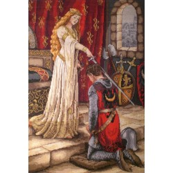 The Accolade SK35 cross stitch kit by Merejka