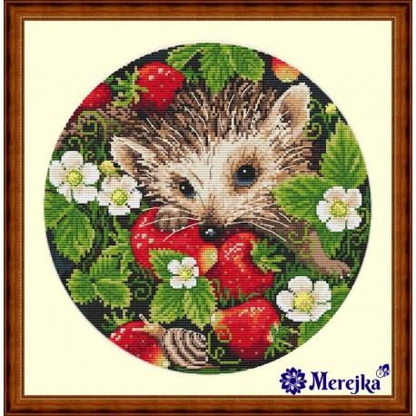 Strawberries SK36 siuvinėjimo rinkinys iš Merejka