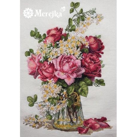 Roses SK39 siuvinėjimo rinkinys iš Merejka