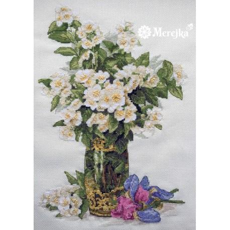 Sweet-scented Bouquet SK40 siuvinėjimo rinkinys iš Merejka