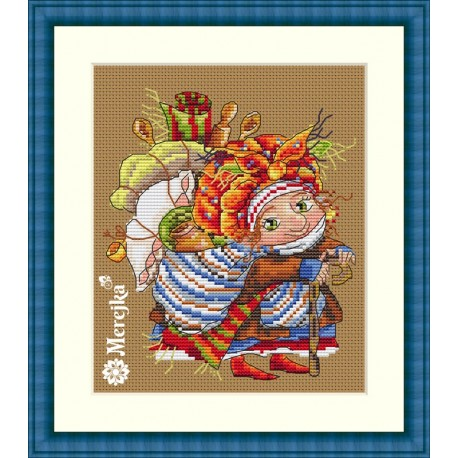 Ragpicker SK48 cross stitch kit by Merejka