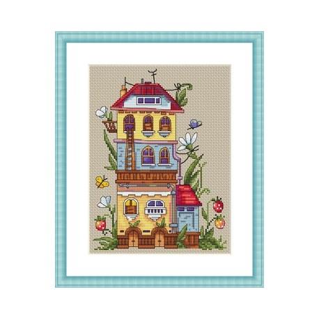Summer House SK53 siuvinėjimo rinkinys iš Merejka