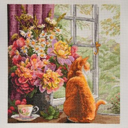 Summer Afternoon SK86 cross stitch kit by Merejka