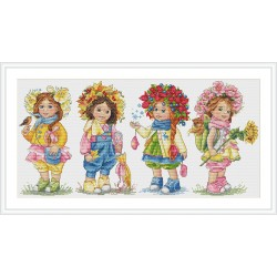 SK111 cross stitch kit by Merejka