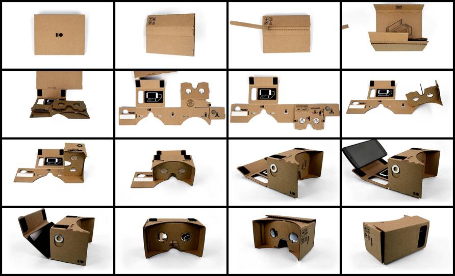 google cardboard surinkimo instrukcija